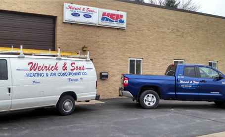 Weirich & Sons service trucks